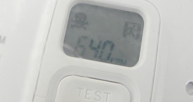 CO-Melder testen