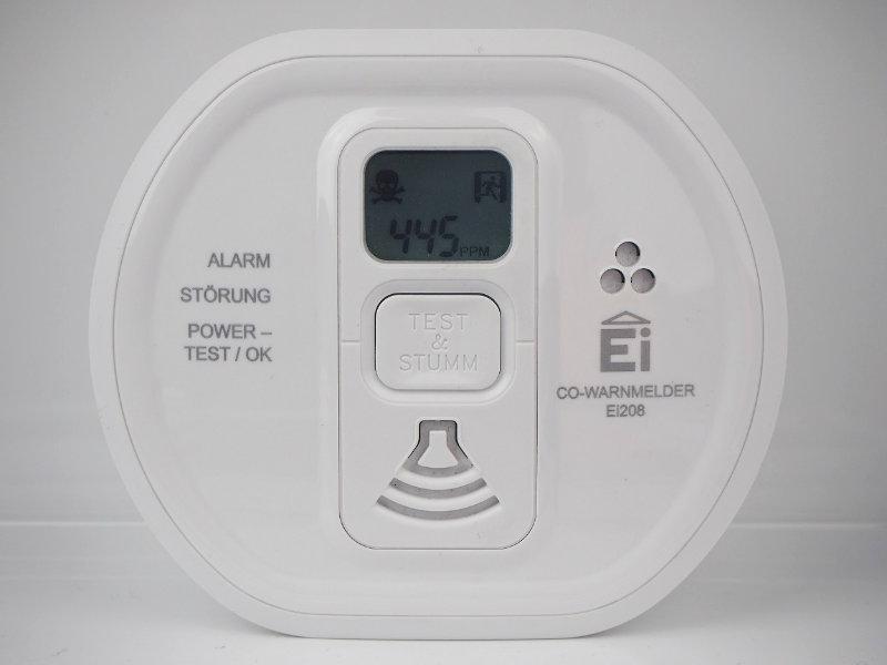 Ei208D CO-Melder Alarm