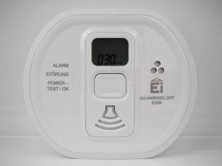 Anzeige CO-Werte in ppm