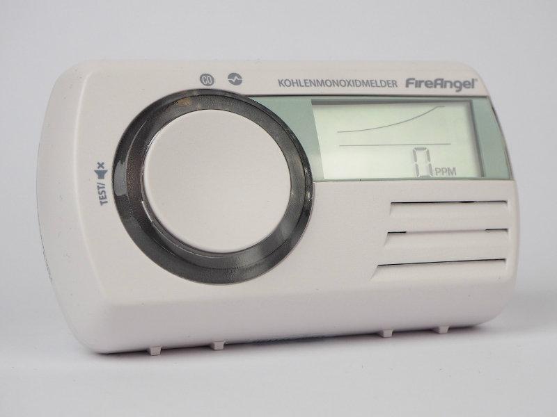 FireAngel CO-9D Anzeige ppm