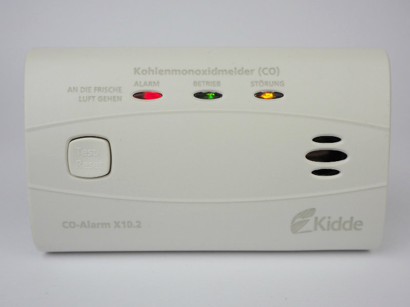 Kidde X10.2 LEDs (Alarm, Standby, Störung)
