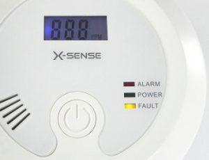 X-Sense CO03B Display und LED´s